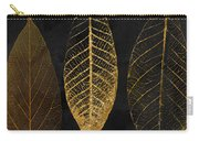 Fallen Gold II Autumn Leaves Carry-all Pouch