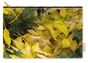 Fallen In The Evergreen Carry-all Pouch
