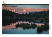 Fallen Leaf Sunset Serenity Carry-all Pouch