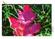 Fallen Maple Leaf Carry-all Pouch