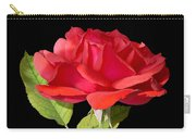 Fallen Red Rose Cutout Carry-all Pouch