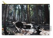 Fallen Sequoia Crescent Meadow Trail Carry-all Pouch