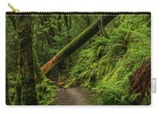 Fallen Tree On The Trail Carry-all Pouch