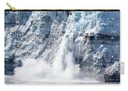 Falling Ice In Alaska Carry-all Pouch