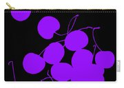 Falling Purple Cherries Carry-all Pouch