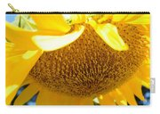 Falling Sunflower Carry-all Pouch