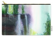Falling Waters 1 Carry-all Pouch by Anil Nene