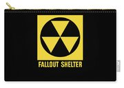Fallout Shelter Sign Carry-all Pouch