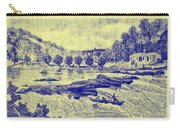 Falls Of The Schuylkill And Fort St Davids 1794 Carry-all Pouch