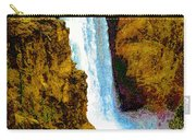 Falls Of The Yellowstone Carry-all Pouch