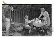 Family Bbq, C.1960s Carry-all Pouch