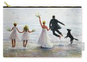 Family Beach Wedding Carry-all Pouch