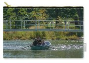 Family Boating If Forest Park Carry-all Pouch