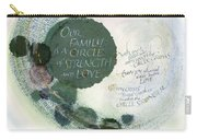 Family Circle Carry-all Pouch by Judy Dodds