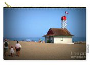 Family Fun At The Beach Carry-all Pouch