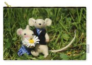 Family Mouse On The Spring Meadow .1. Carry-all Pouch