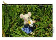 Family Mouse On The Spring Meadow Carry-all Pouch