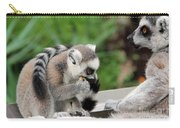Family Of Lemurs Carry-all Pouch