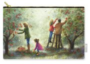 Family Picking Apples Carry-all Pouch