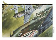 Famous Aircraft And Their Pilots Carry-all Pouch