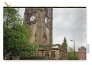 Famous Cathedral Of Manchester City In  Uk Carry-all Pouch