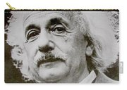 Famous Photograph Of Albert Einstein  Carry-all Pouch