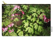 Fanciful Bleeding Hearts Carry-all Pouch