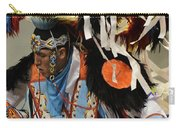 Pow Wow Fancy Dancer 1 Carry-all Pouch