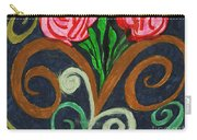 Fancy Flowers Carry-all Pouch