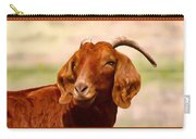 Fancy The Red Goat Carry-all Pouch