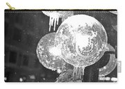 Faneuil Hall Lollypop Light Icicles Boston Ma Black And White Carry-all Pouch