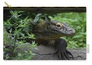 Fantastic Close-up Look At A Komodo Monitor Carry-all Pouch