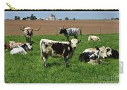 Fantastic Farm On A Spring Day With Cows Carry-all Pouch