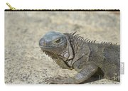 Fantastic Gray Iguana With Spines Along His Back Carry-all Pouch