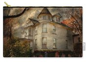 Fantasy - Haunted - The Caretakers House Carry-all Pouch by Mike Savad
