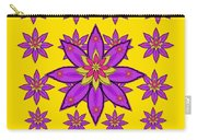 Fantasy Big Flowers In The Happy Jungle Of Love Carry-all Pouch