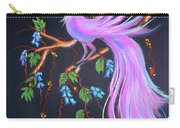 Fantasy Feather Bird Carry-all Pouch