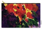 Fantasy Flowers  #107, Carry-all Pouch