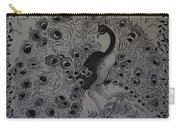 Fantasy Peacock Carry-all Pouch
