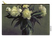 Fantin-latour: Peonies, 1872 Carry-all Pouch