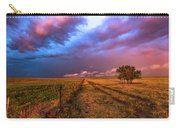 Far And Away - Open Prairie Under Colorful Sky In Oklahoma Panhandle Carry-all Pouch