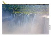 Far Side Of Devil's Throat In Iguazu Falls National Park-argentina   Carry-all Pouch