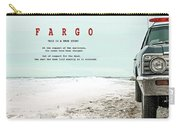 Fargo, This Is A True Story, Art Poster Carry-all Pouch