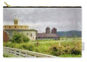 Farm - Barn - Farming Is Hard Work Carry-all Pouch by Mike Savad