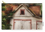 Farm - Barn - Our Old Shed Carry-all Pouch by Mike Savad