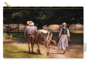 Farm - Cow - Time For Milking  Carry-all Pouch