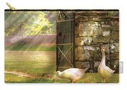 Farm - Geese -  Birds Of A Feather Carry-all Pouch