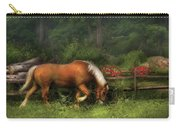 Farm - Horse - In The Meadow Carry-all Pouch