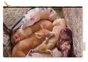Farm - Pig - Five Little Piggies And A Chicken  Carry-all Pouch