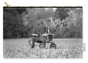 Farm All In  Corn Field Blsck And White Carry-all Pouch